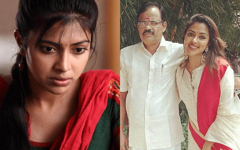 Amala Paul's father passes away after a long fight with cancer | Penbugs