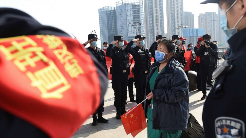 China reports zero new domestic cases for the first time