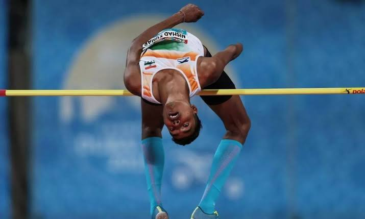 nishad kumar high jump paralympics